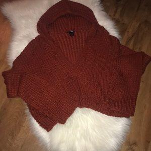 Fashion Nova Plus cropped chunky knit sweater 3X